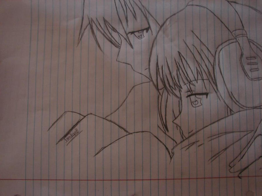 Cute Anime Couples Drawings