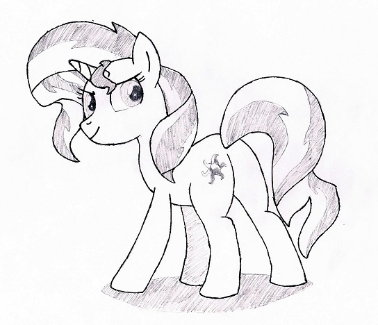 My Little Pony Starlight Glimmer Coloring Pages : My little pony coloring pages sunset shimmer
