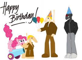 ITS MY BIRTHDAY!!! :D by B1BattleDroid