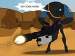 TF2: Meet the B2 Heavy Battle Droid (Blu)