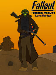 Fallout: Mojaves Lone Ranger (Without Helmet)