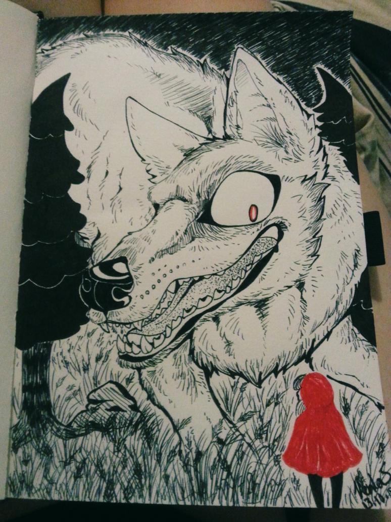 Inktober10 by ginga-wolf97