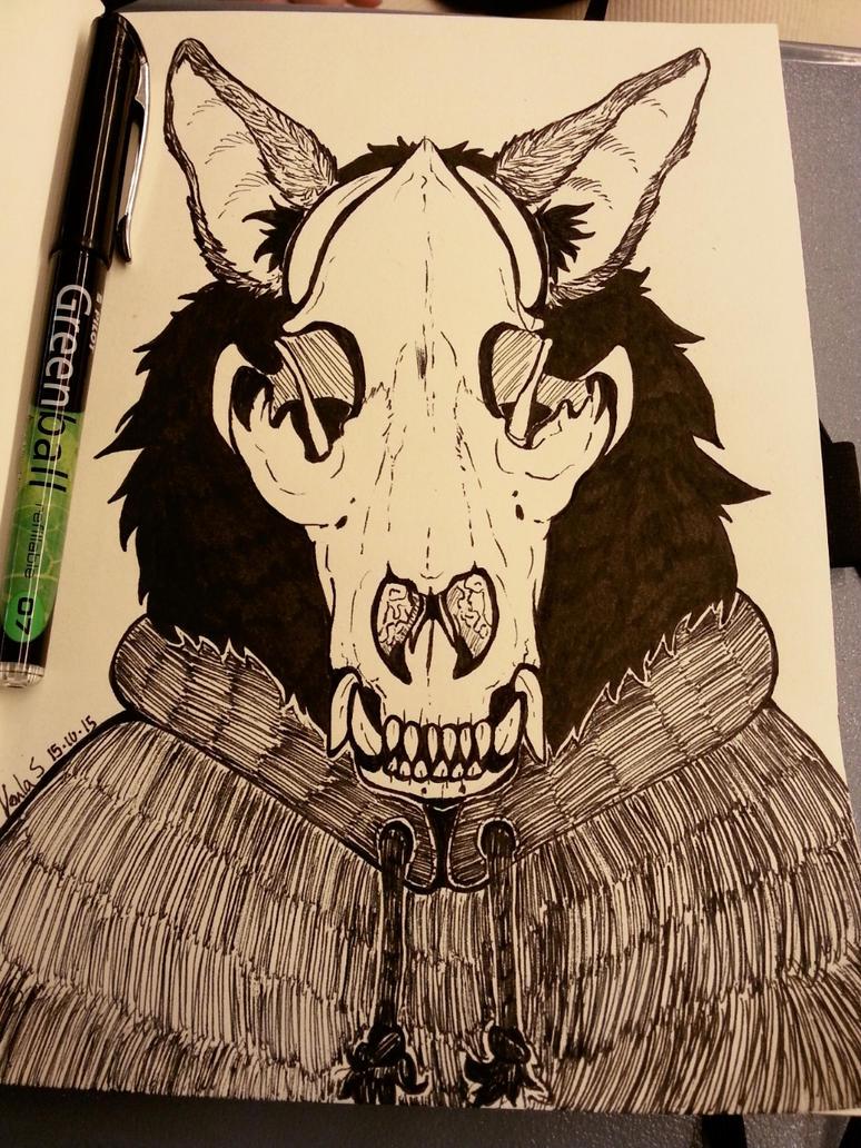 Inktober12 by ginga-wolf97
