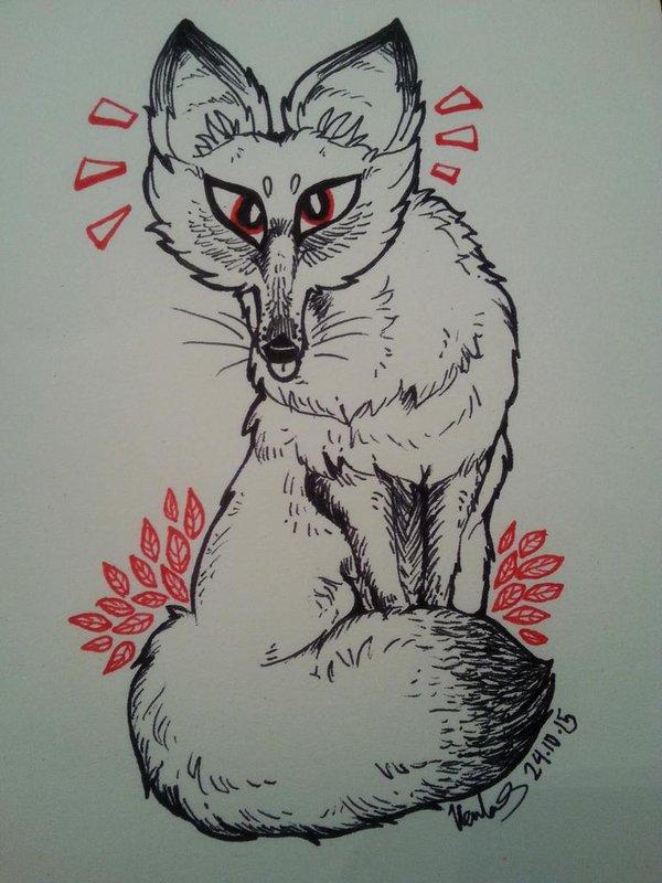 Inktober14 by ginga-wolf97