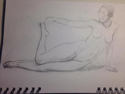 Life Drawing 1 by Soofii-chan