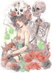 necromantic princess | AGNELA by SZOPISKO