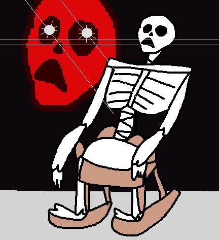 skeleton chair by cinnamedic on deviantart