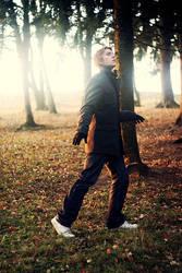 In the park by Snehurkaa10