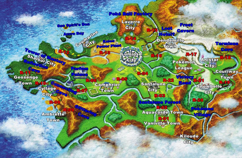 kalos region pokemon coloring pages - photo#27