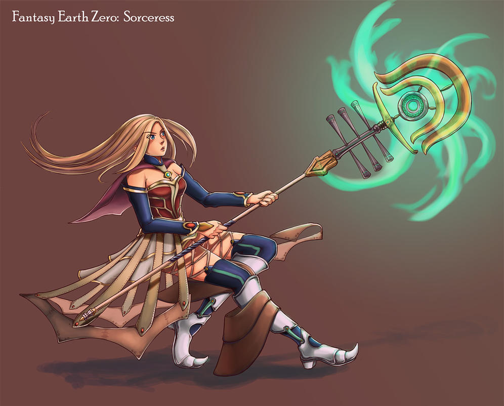 FEZ Contest: Sorceress by Carthegian