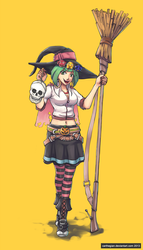 Wicked Witch Wicca by Carthegian