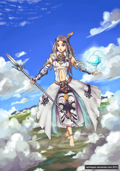 Goddess of Light - Ignata by Carthegian