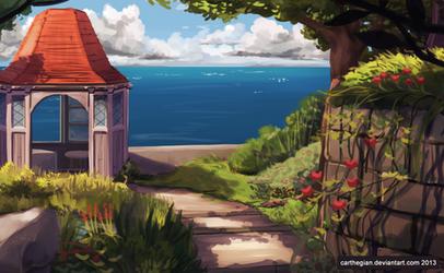 Gina's Secret Garden by Carthegian