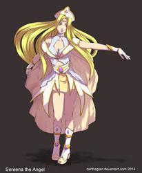 Sereena the Angel by Carthegian