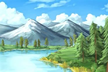 Envi 1 : Lakeside by Carthegian