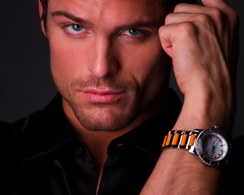 Noah Orange Guess Watch by JBoettner