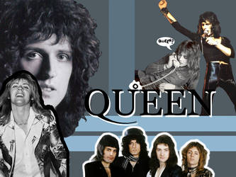 Queen wallplayer by Bulzara