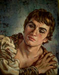 Nureyev.oil paint