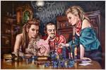 Daniel Ilanca's Rapper's delight.oil paint