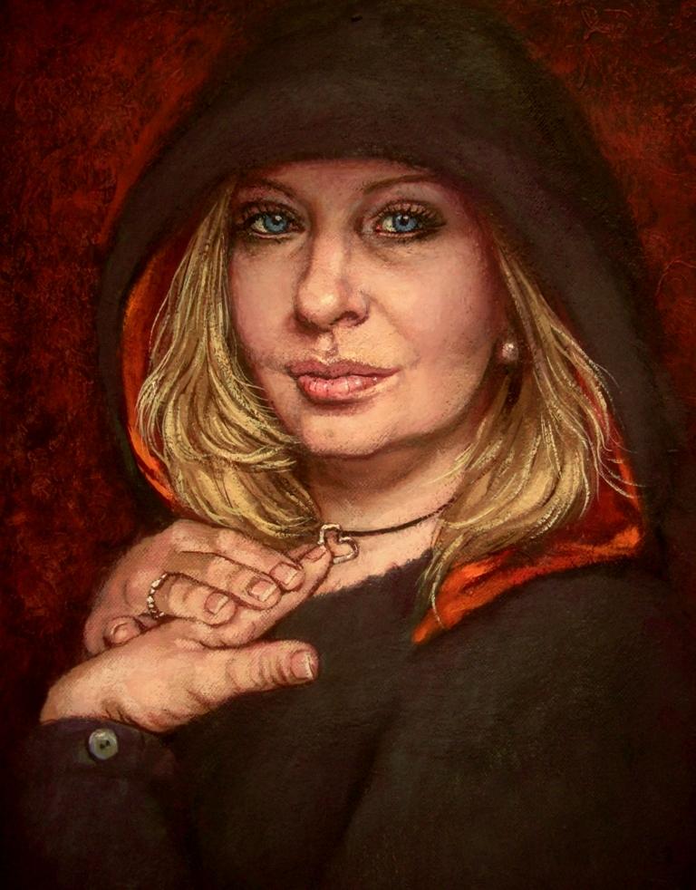 Self portrait..oil paint by xxaihxx