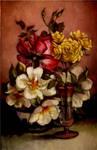 Roses..oil paint