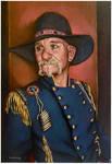 Pistol Pete..oil on linen canvas