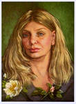 Self..oil on linen canvas