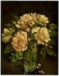 rose sketch3...oils