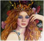 Copper beauty..watercolour