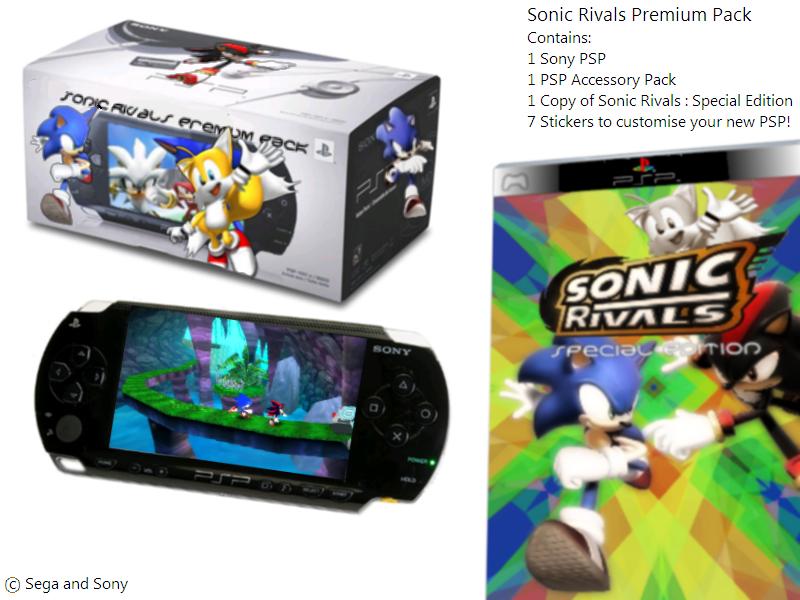 Sonic Rivals Premium Psp Pack By Sarashi M On Deviantart