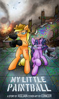 My Little Paintball Poster by Conicer