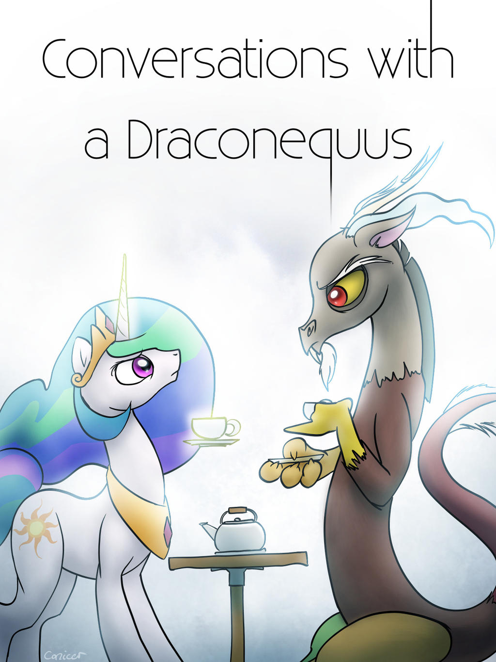 Conversations with a Draconequus Cover by Conicer