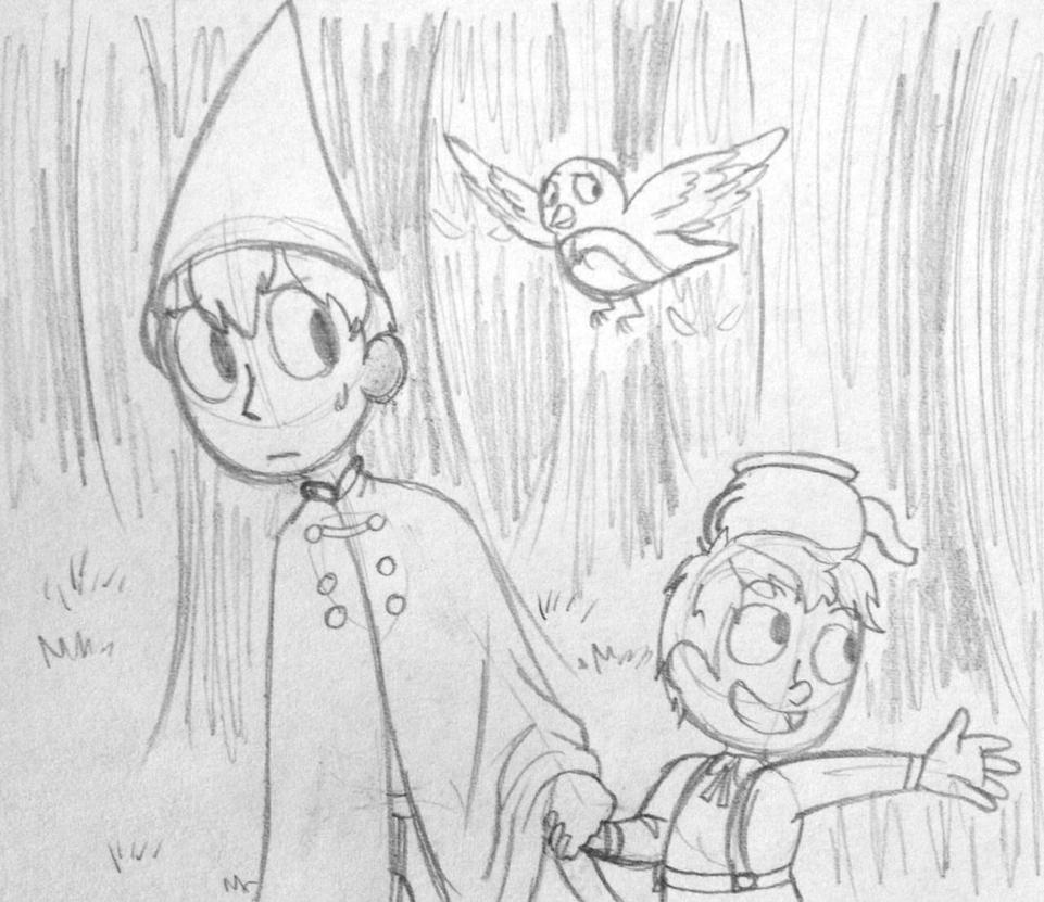 nerds in the woods by Queen-of-the-Losers