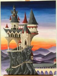 Fantasy Castle by sjoycie