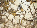 Broken Ceramic Tile