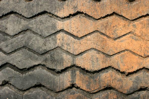 Muddy Tire Tread by GrungeTextures
