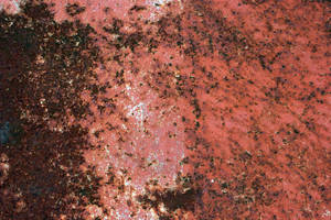 Rusted Red Metal by GrungeTextures