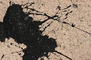Splattered Black Paint by GrungeTextures