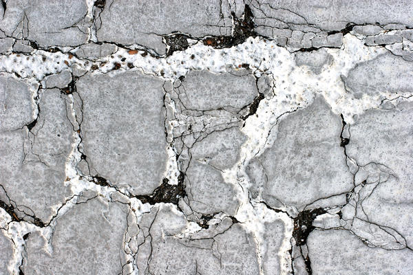 Damaged Asphalt Surface