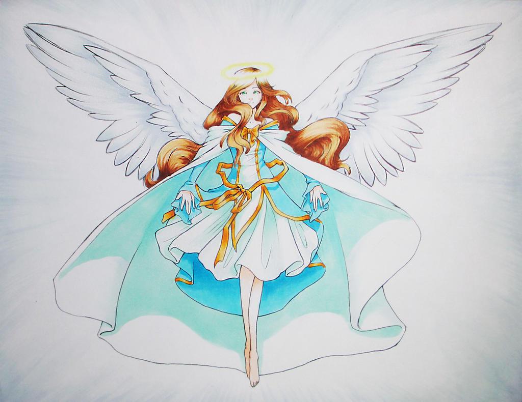 Angel by Lunalli-Chan