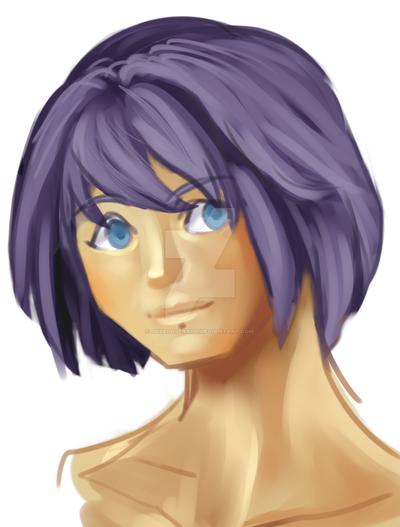 Violethead by JosephSeraph