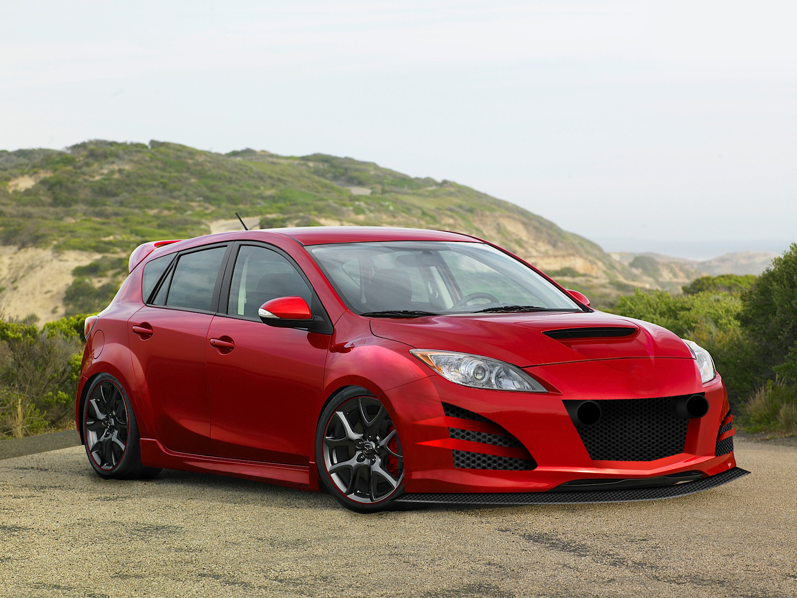 Mazda 3 Hatchback With Rims >> Mazdaspeed 3 Hatchback by OCraque on DeviantArt