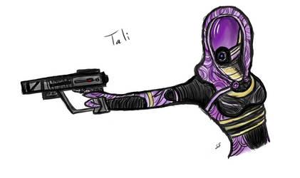 Tali - Mass Effect by Seldey