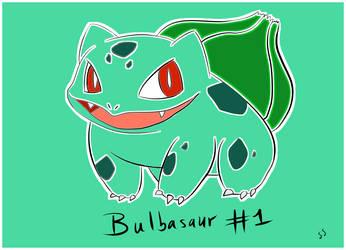 Bulbasaur by Seldey