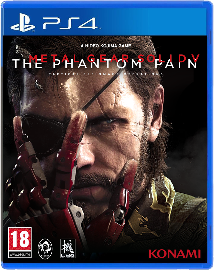 The Phantom Pain - Alternative Cover by Odinsdeath