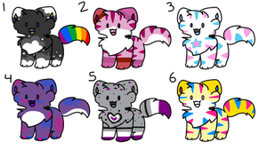LGBTQ+ Adopts Batch 1 (Taken)