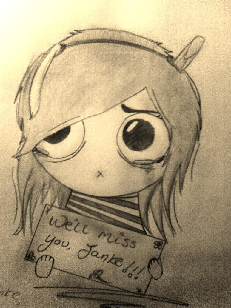 """""""We'll Miss You."""" Drawing By SixSecondPoison On DeviantArt"""