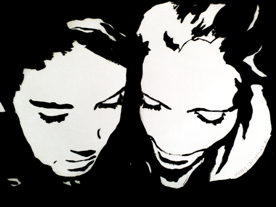 Pop Art Black And White Black And White Pop Art 2 by