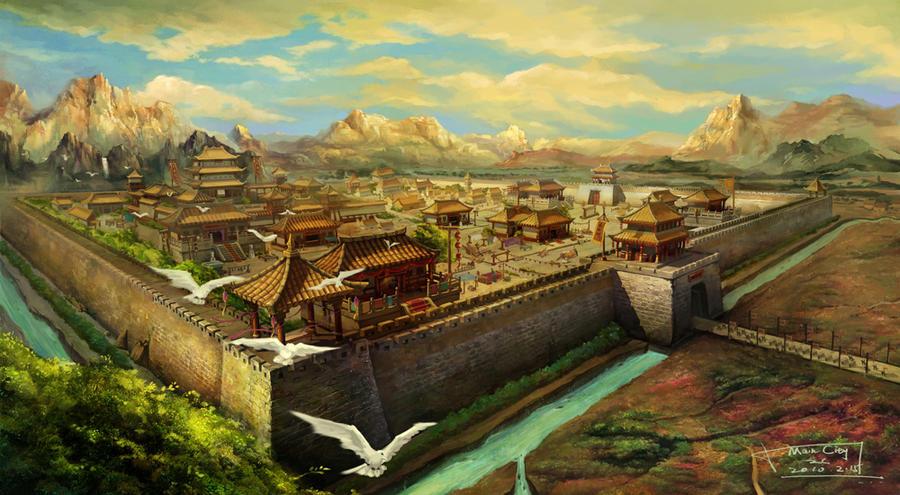 Main City by chuanzhong