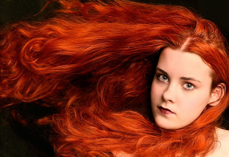 Red Hair by FaeDahl